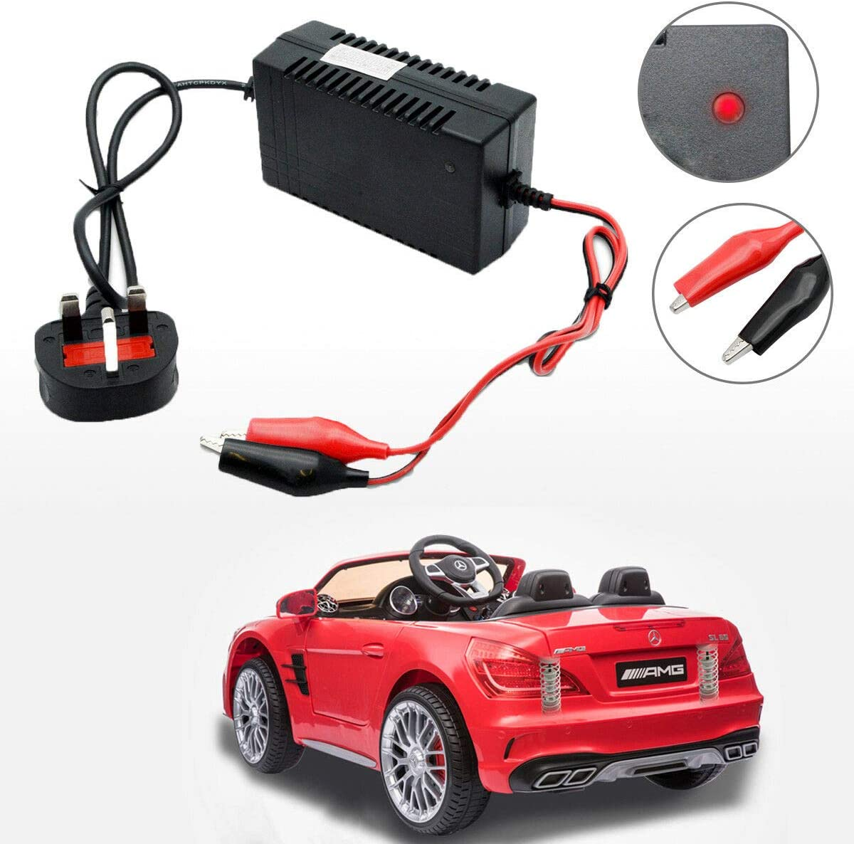 Smart Automatic Battery Charger for Mercedes SLK Inteligent 5 Stage