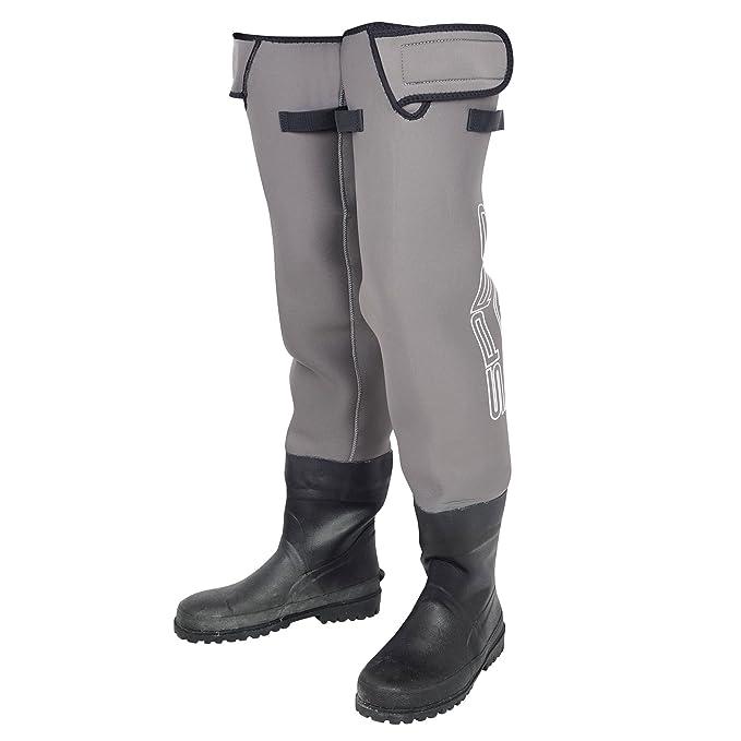 BEHR Watstiefel 4mm Neopren mit Tasche Größe 42//43 Hüftstiefel Watbekleidung !!!