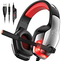 $22 » Hunterspider PS4 Headset V-4 Gaming Headset Xbox one Headset Gaming Headphone with…