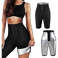 langjiao Yogabroek, anti-cellulitis-legging, sterke compressie, verstelbare taille, slankheidsleggings, versnelt de…