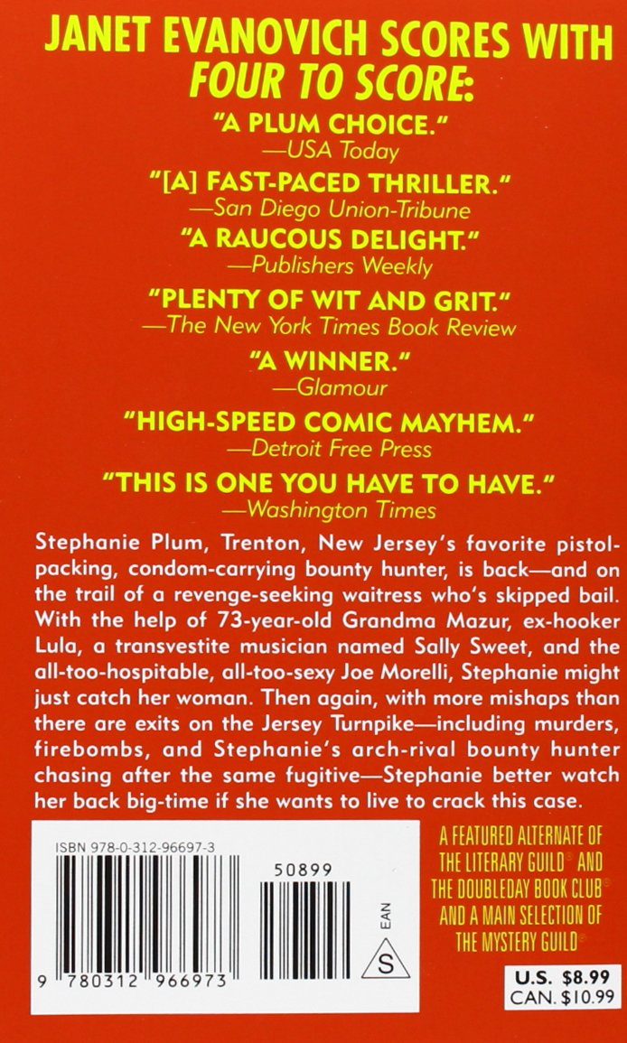 4) (stephanie Plum Novels): Janet Evanovich: 9780312966973: Amazon:  Books