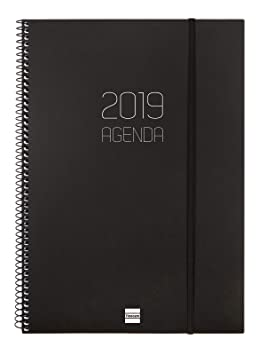 Agenda 2019 semana vista apaisada español