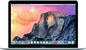 Apple MacBook MJY32LL/A Intel M-5Y31 X2 0.9GHz 8GB 256GB 12in MacOSX,Gray (Renewed)