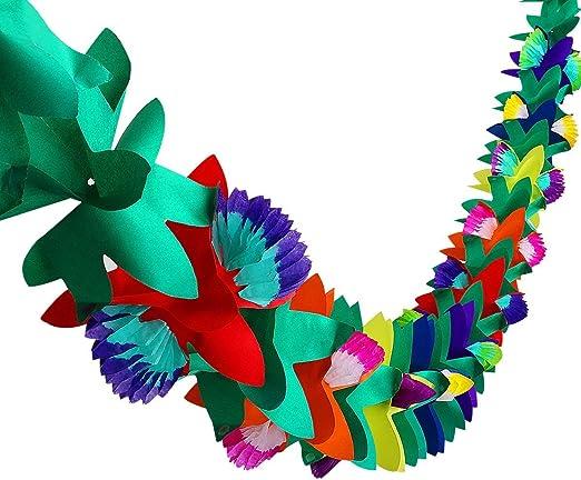 Hawaii fiesta-guirnalda banderín-cadena banderín-guirnalda Flamino loro Beach-Party