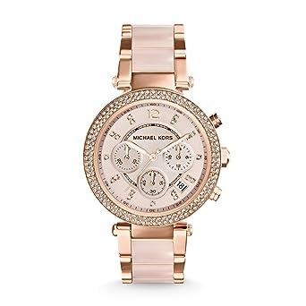 Damenuhren michael kors rosegold  Michael Kors Damen-Uhren MK5896: Michael Kors: Amazon.de: Uhren
