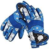 STARHOME Kids Gloves Winter Waterproof Children Ski Gloves Boys and Girls