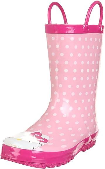 3b4c2eec1 Western Chief Hello Kitty Polka Dotted Cutie Rain Boot (Toddler/Little Kid /Big