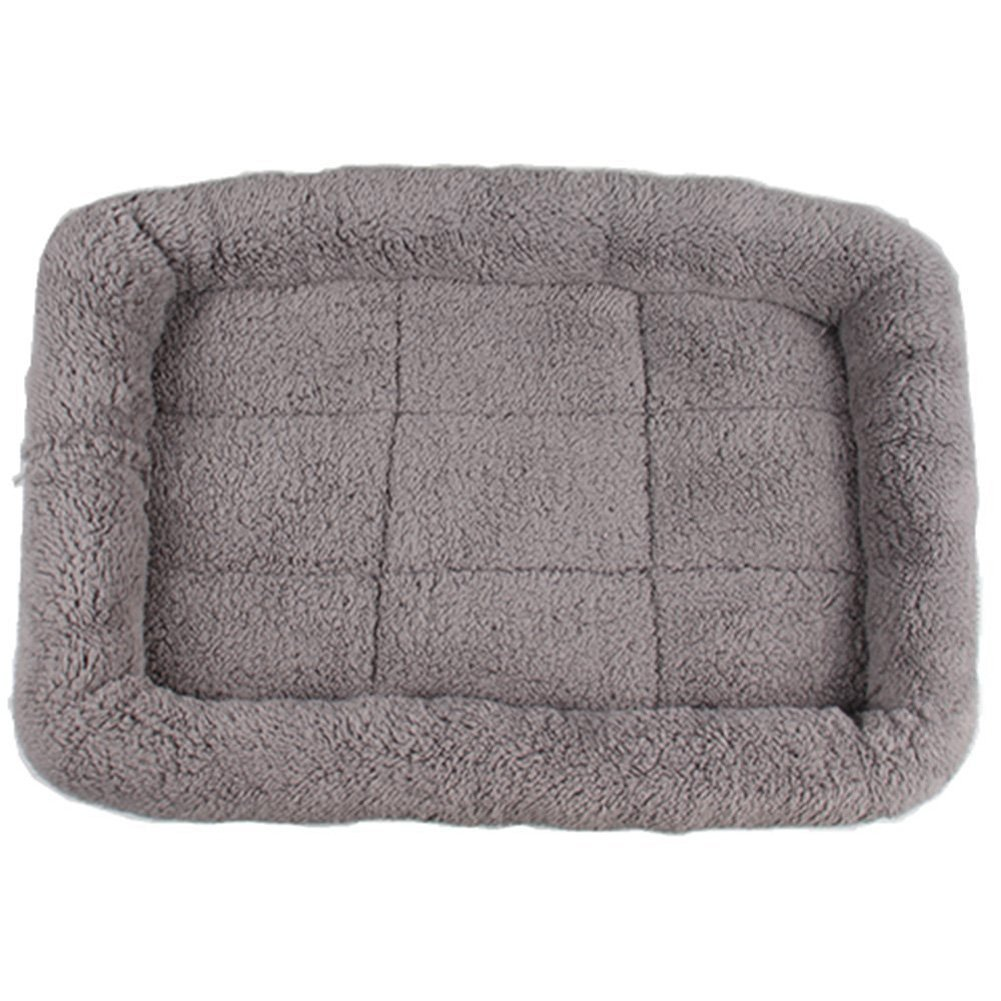 LESYPET Small Dog Crate Cotton Washable Mat Medium