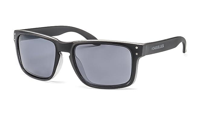 Back in Black Sonnebrille im Wayfarer Stil | Polarisierte Sonnenbrille für Damen & Herren in markantem Design F2501757