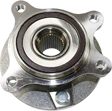 Wheel Hub Compatible For 2006-2015 Lexus IS250 IS350 6Cyl 2.5L 3.5L With Bearing