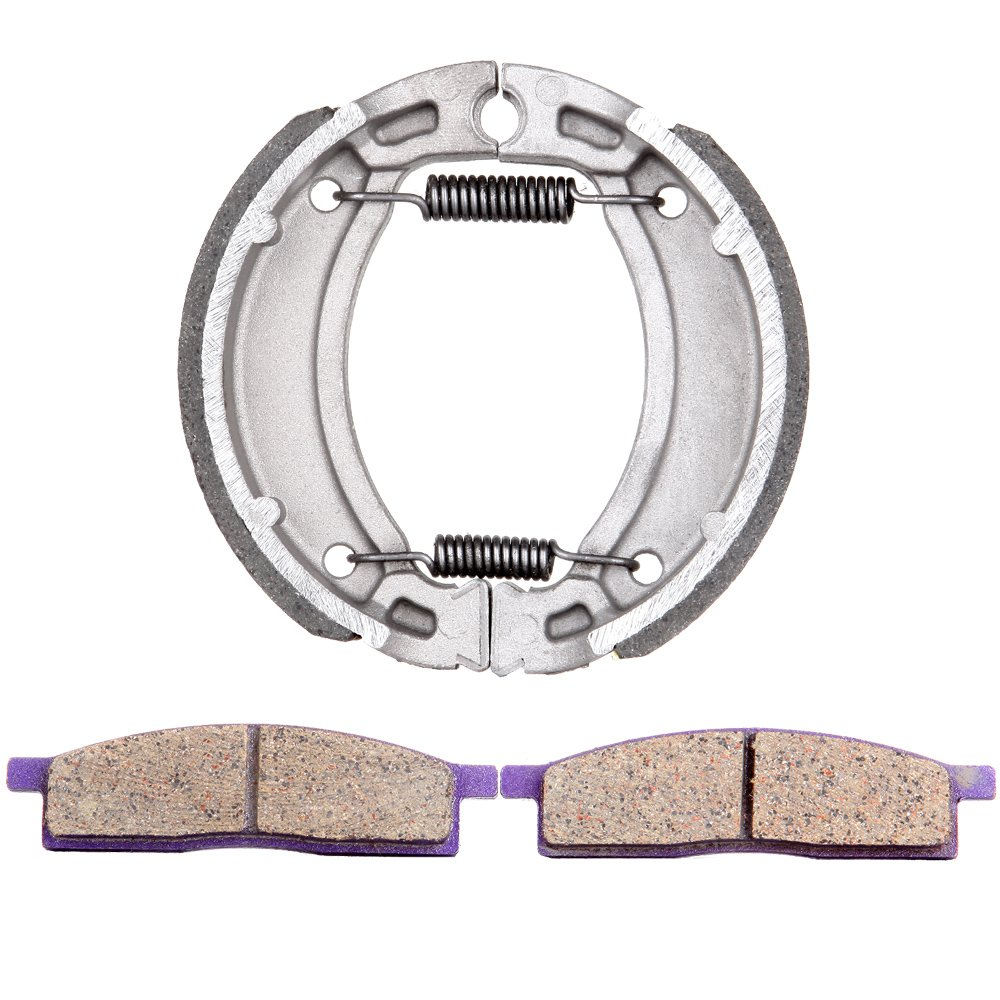 ECCPP 503 FA119 Replacement Brake Pads Brake Shoes Kits Fit for 2000-2008 Yamaha TTR125L,2003-2009 2011-2012 Yamaha TTR125LE 991652-5211-1040295743