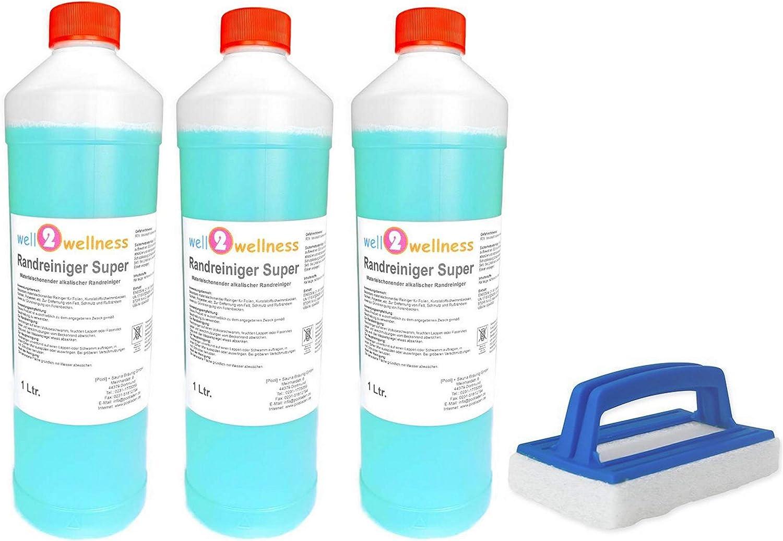Limpiadores de Piscinas Limpiador de Piscina - Limpiador de Borde Súper 3,0 L + Reinigungspad