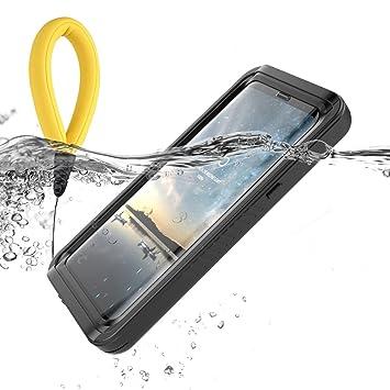 Funda Impermeable Samsung Galaxy S9 Plus, BasicStock [Resistente a los Rayones] [Protección de 360 grados], Carcasa para Samsung Galaxy S9 + con ...
