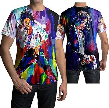 Amazon.com: Rey del Pop Memorial playera de Michael Jackson ...