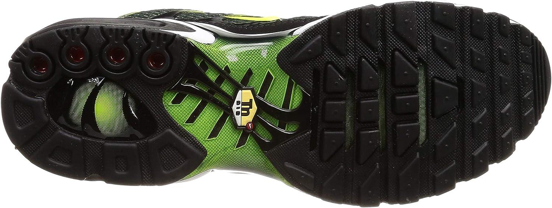 Nike Air Max Plus Tn Tuned 1 Black Volt Dark Grey White Green