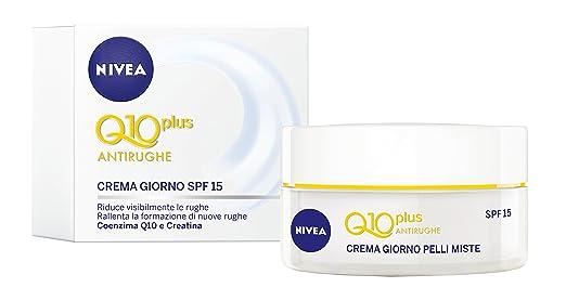 4 opinioni per Nivea- Visage Crema Anti Rughe Q10 Giorno Light, 50Ml