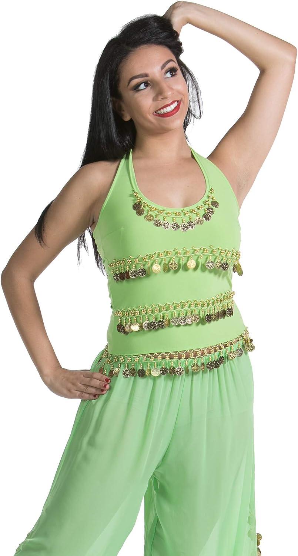 Belly Dance Lycra Stretchy Halter Top TP01
