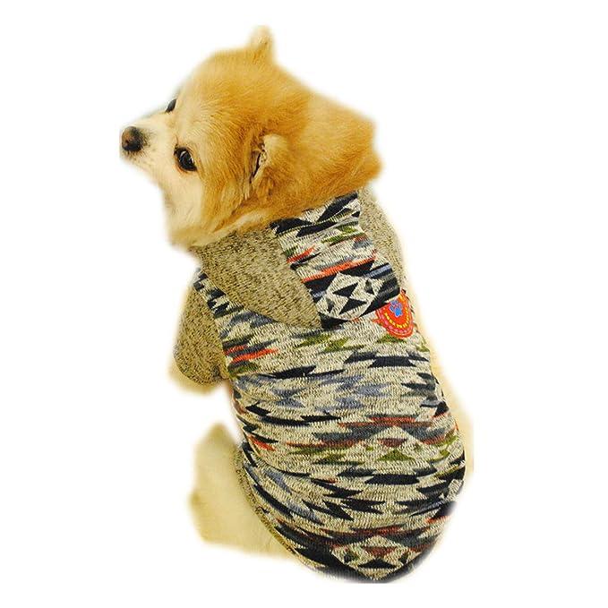 Ropa para Mascotas,Dragon868 Caliente Mascotas Perro Gatos Sudaderas de Lana suéter Camisa Ropa: Amazon.es: Ropa y accesorios