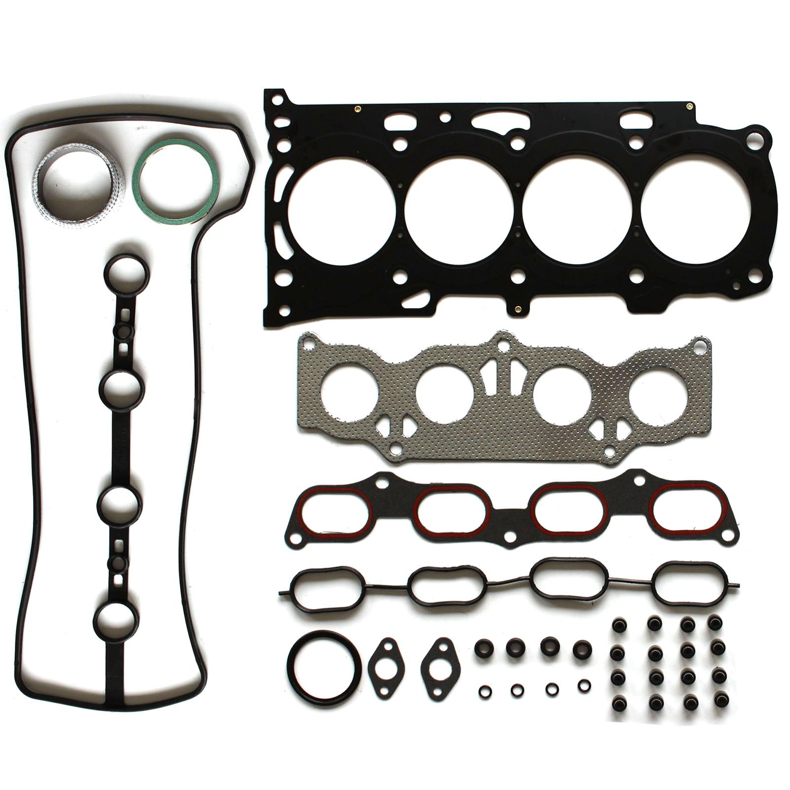 SCITOO Replacement for Engine Head Gasket Set fits Toyota Camry Lexus HS250H Scion Toyota 2.4L 16v 2AZFE Head Gaskets Kit Sets