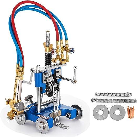 CG2-11G Máquina corte gas tubería túnel manual Antorcha Biseladora corte gas Máquina corte tubería precisa Máquina biselado tubería eficiente Herramienta corte tubería tubo (0.2-1.97 pulgadas): Amazon.es: Hogar