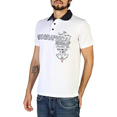 Geographical Norway Polo Kilitary_man Hombre Color Blanco talla: S ...