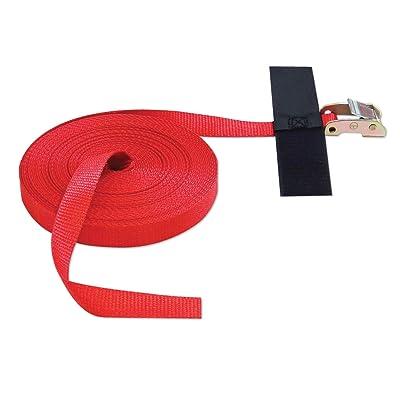 "Cinch Strap 1""x50' CAM (USA!) with Hook & Loop Storage Fastener: Industrial & Scientific"