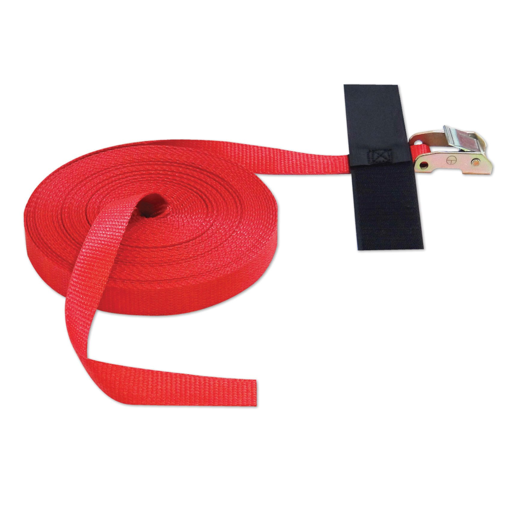 CINCH STRAP 1''x50' CAM (USA!) with Hook & Loop Storage Fastener