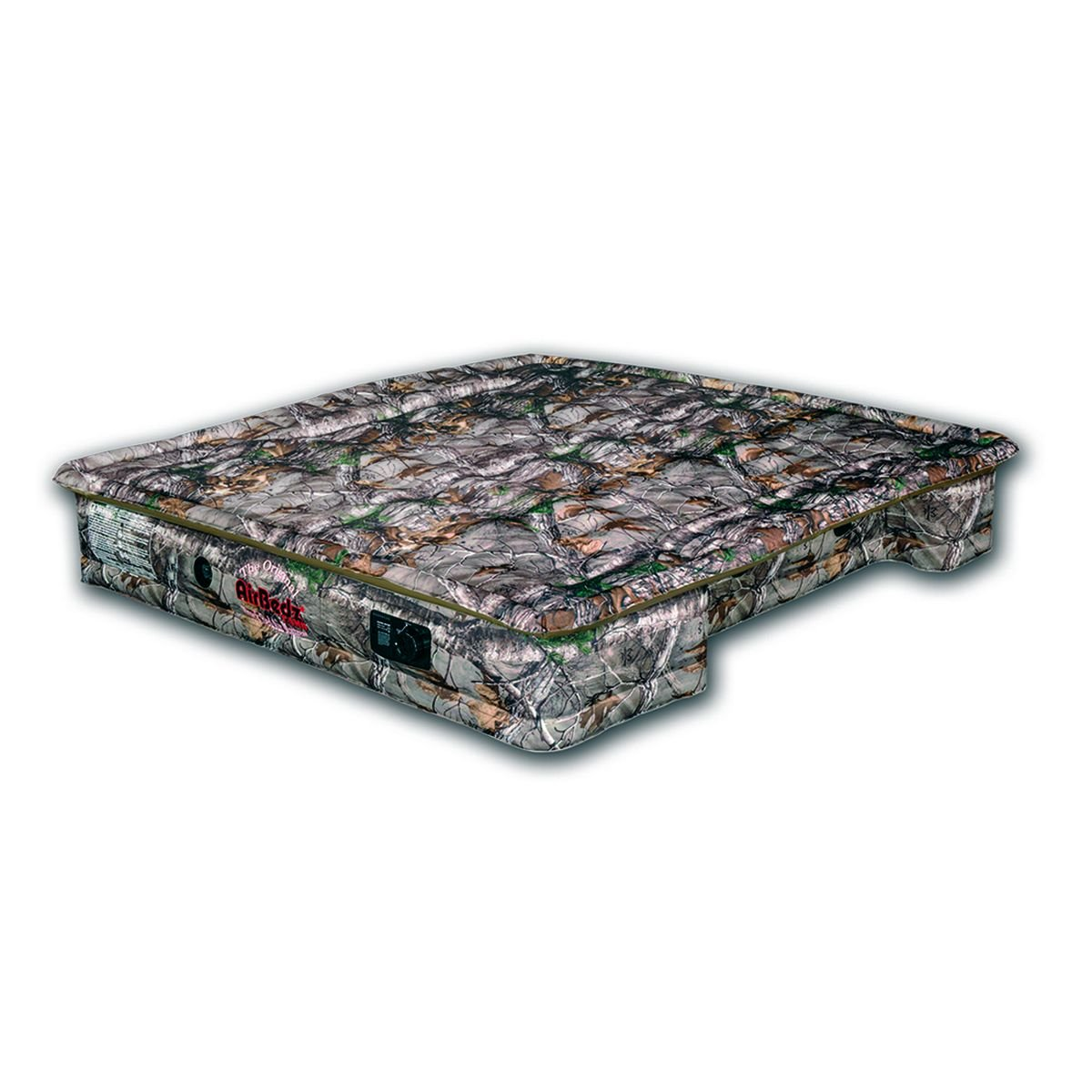 AirBedz Camo 405-Mid PPI 405 Mid Size 5'-5.5' Short Bed with Built-in Rechargeable Battery Air Pump with Tailgate Mattress