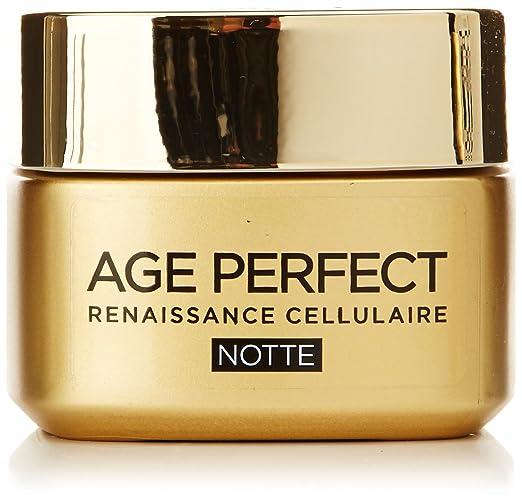 2 opinioni per L'Oréal Paris Age Perfect Renaissance Cellulaire Crema Viso Ricostituente Notte,