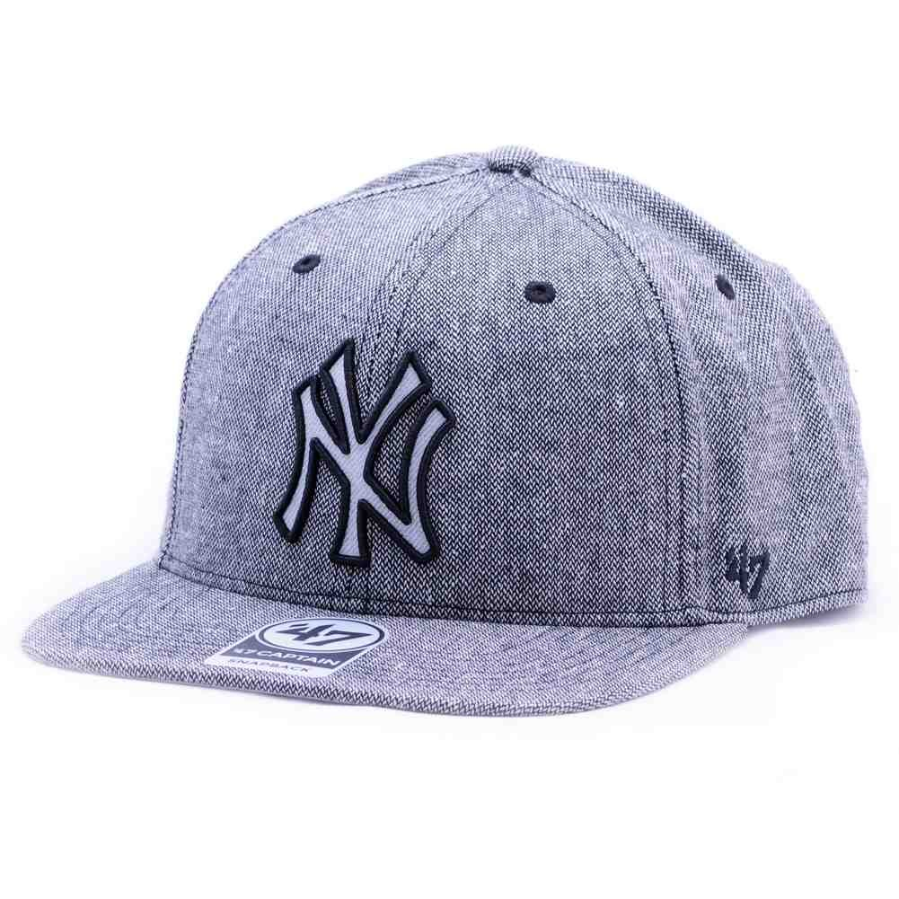 Gorra 47 Brand - Mlb New York Yankees Captain Snapback negro talla ...