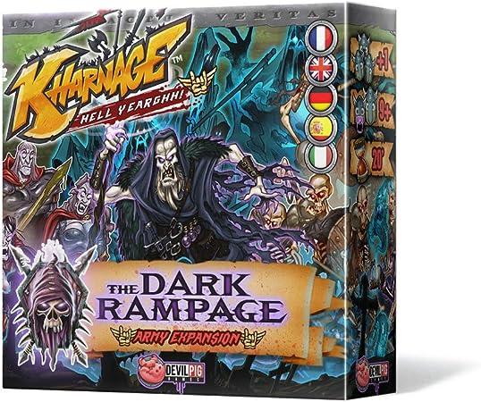 Edge Entertainment Kharnage - The Dark Rampage, Juego de Mesa EDGKH03: Amazon.es: Juguetes y juegos