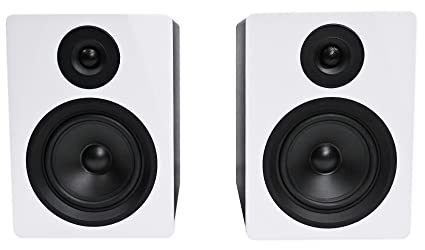 fd0c81dfab6 Rockville 2-Way 250W Active/Powered USB Studio Monitor Speakers Pair, 5.25  inch