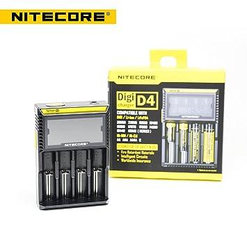 Nitecore D4 Universal, Universal inteligente Cargador de Batería