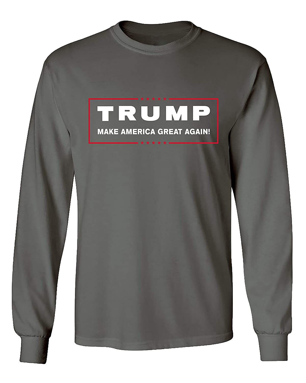 Political Trump Make America Great Again Adult Long Sleeve Shirt