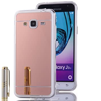 LXHGrowH Funda Samsung Galaxy J3 2016, [Ultra Delgada] Carcasa con ...