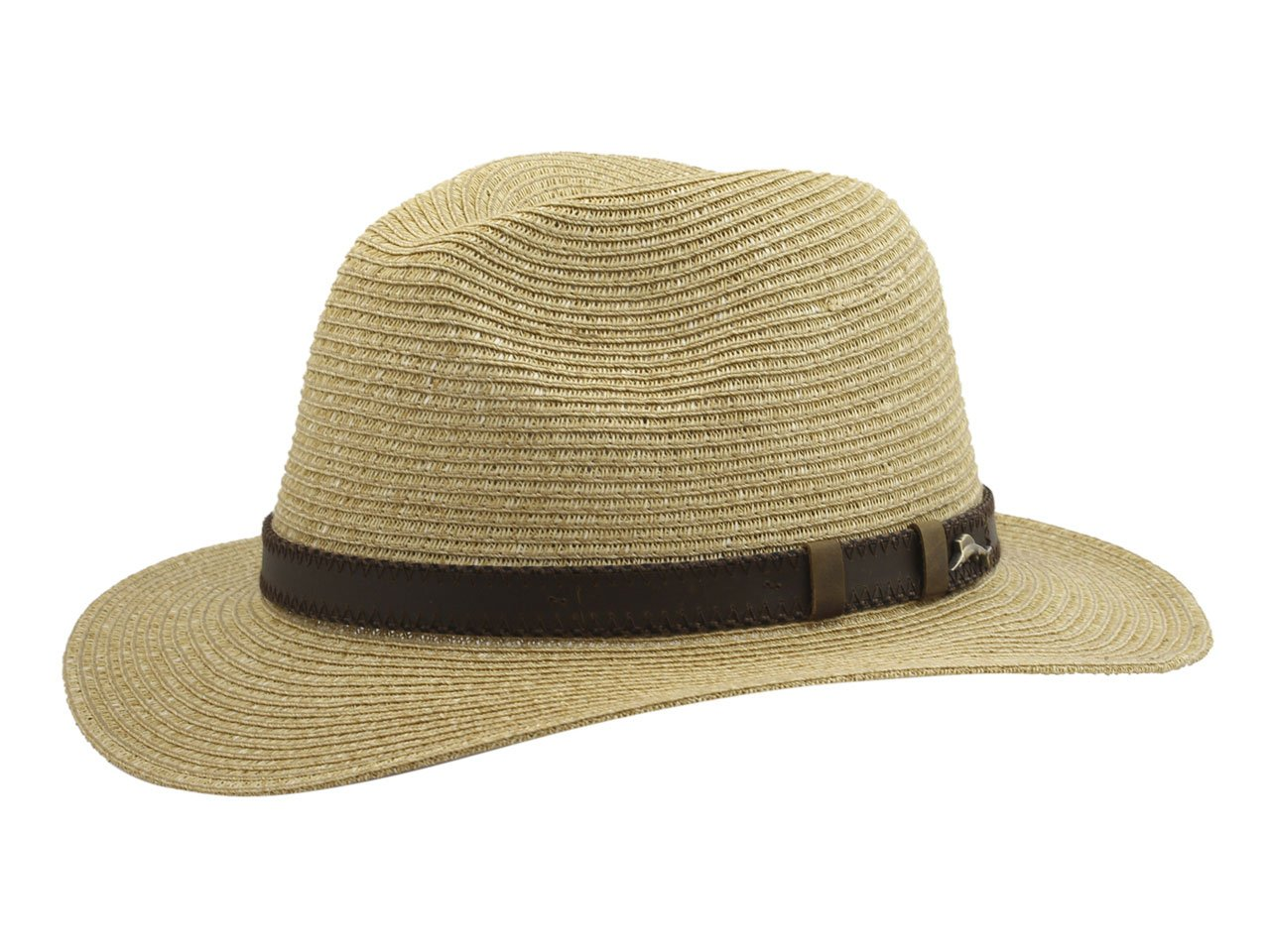 Tommy Bahama Men's Fine Braid Safari Hat, Tea, Large/Extra Large