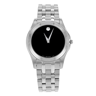 Movado 0605973 Corporate Exclusive Men's Watch, Stainless Steel Case, Stainless Steel Bracelet, Swiss Quarz