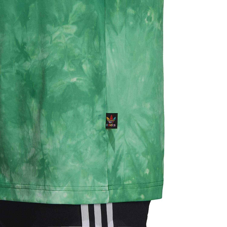 adidas Mens Pharrell Williams hu Holi Tee Green CW9100