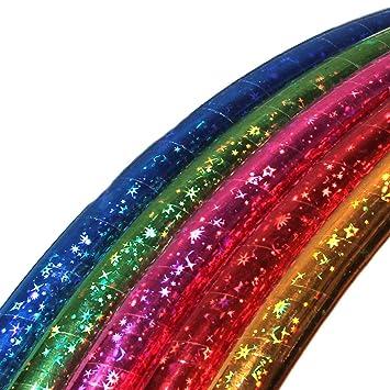 Bunter Hula Hoop Hula-Hoop Reifen 60 cm Kinder Fitnessreifen Gymnastik Spielzeug