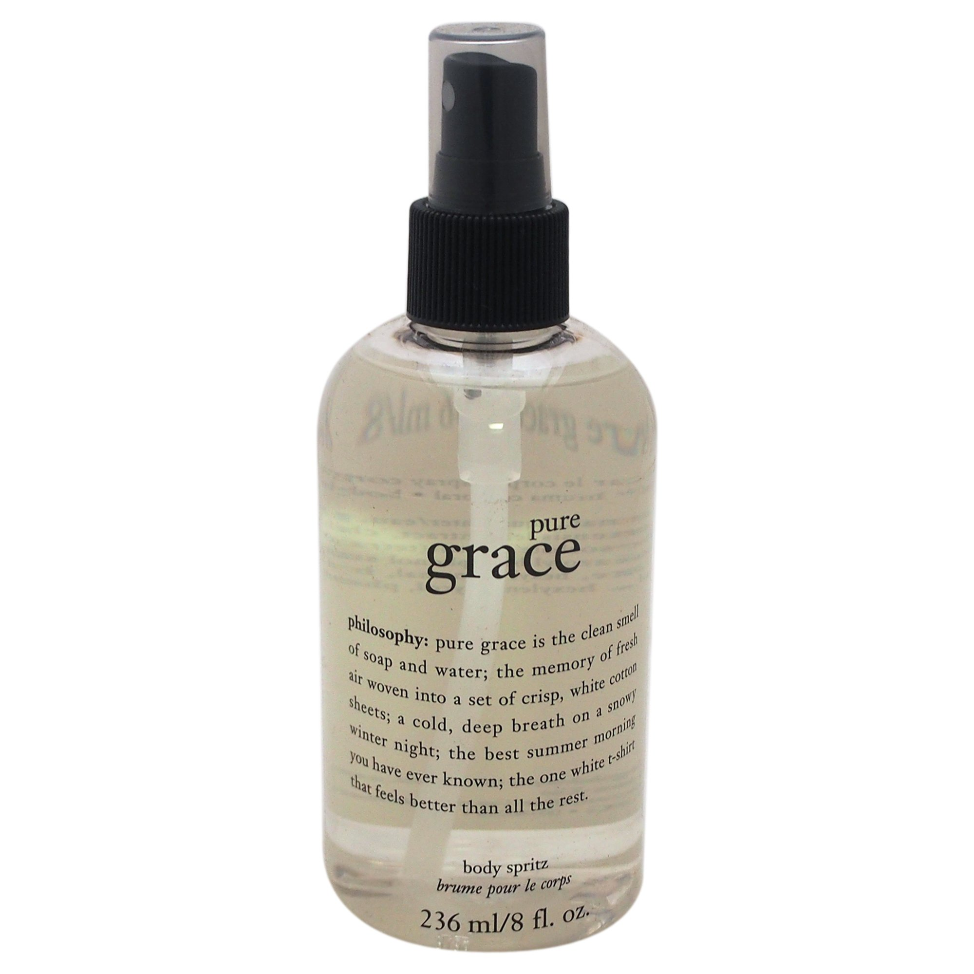 Philosophy Pure Grace Body Spritz, 8 Ounce