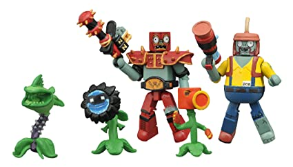 Diamond Select Toys Plants vs. Zombies: Garden Warfare: Minimates Series 2 Box Set