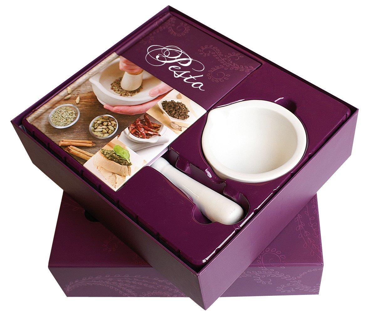gourmet-set-pesto-kochbuch-mit-krutermrser-und-stssel-edition-fackeltrger-buchgeschenkboxen