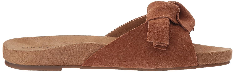 Lucky Brand Women's Florene Slide Sandal B077G8M2BC 7.5 B(M) US Macaroon