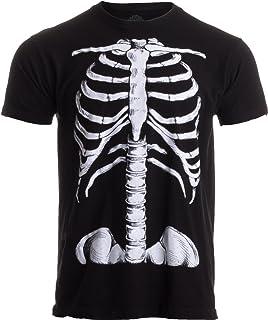 f4c7e713ff2a Skeleton Rib Cage   Jumbo Print Novelty Halloween Costume Unisex T-Shirt