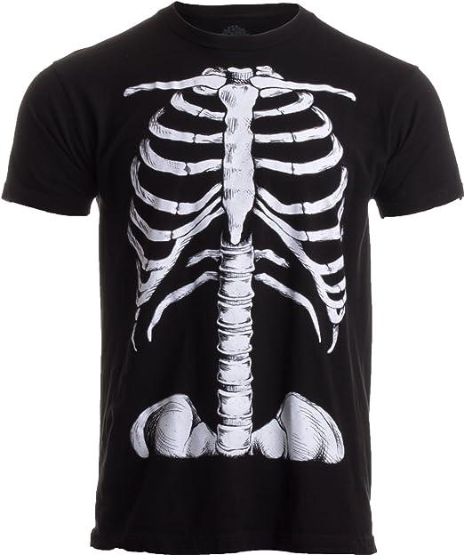 Ann Arbor T-shirt Co. Jaula de Esqueleto | impresión Jumbo Novedad ...