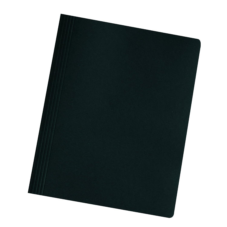 Herlitz 11130325 Carpetas color negro 10 unidades, A4, cart/ón