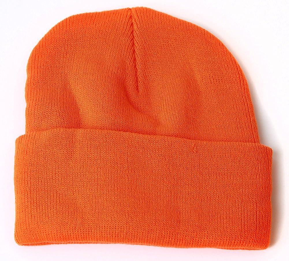 c9e1e2f2026 Blank Long Cuff Beanie - Orange  Amazon.ca  Clothing   Accessories