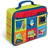 "Crocodile Creek Eco Kids Vehicles Insulated Boys Lunchbox with Handle, 10"""