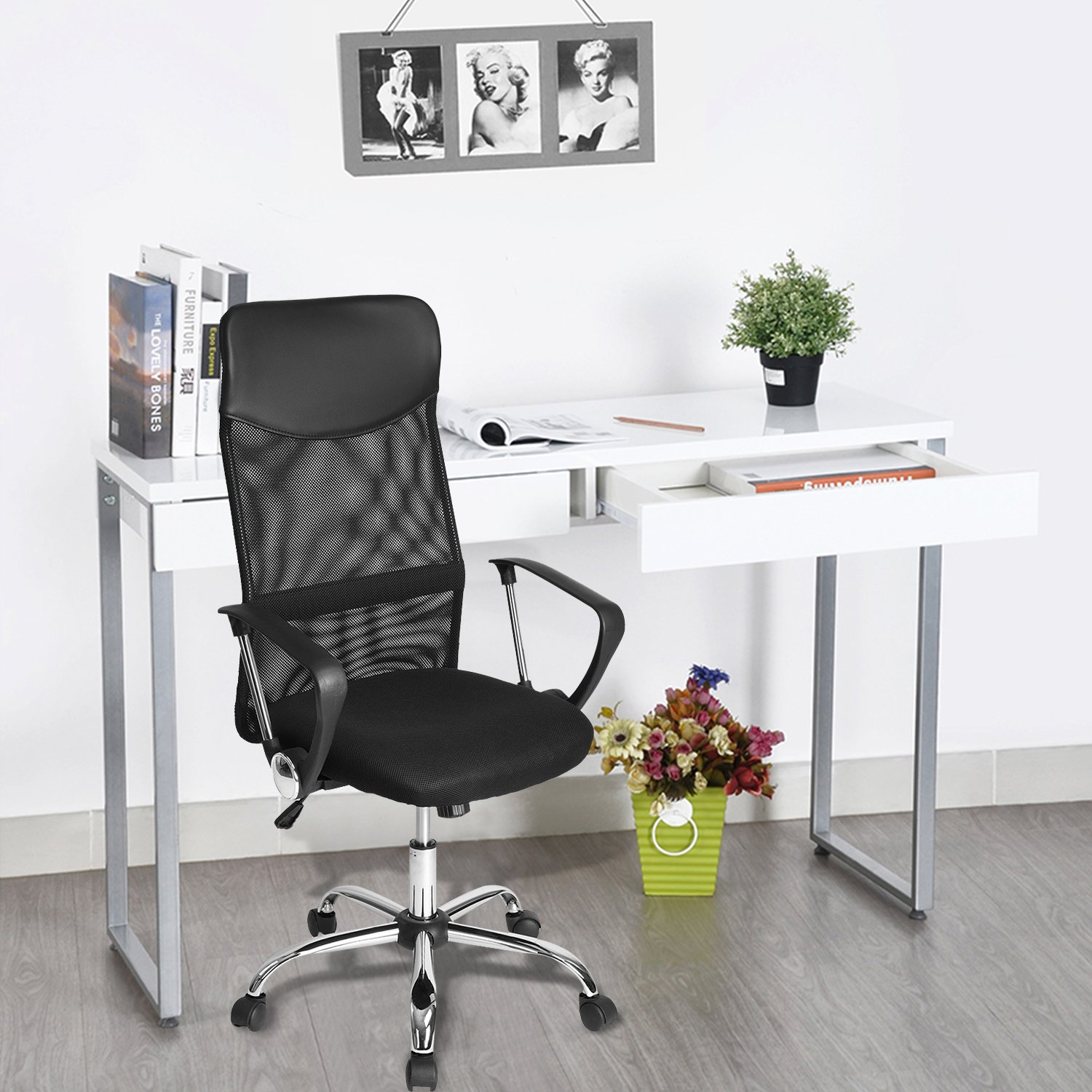 Amazon GreenForest fice Chair for puter Desk Mesh High