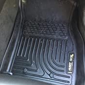Black Husky Liners 98181 Custom Fit WeatherBeater Molded Front and Second Seat Floor Liner for Select Chevrolet Volt Models